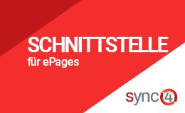 Warenwirtschaft Schnittstelle mit sync4® Logo