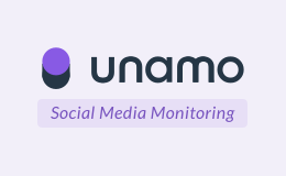 Unamo Social Media Monitoring Logo