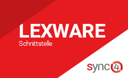 Lexware Schnittstelle mit sync4® Logo